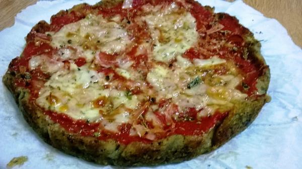 pizza di melanzana