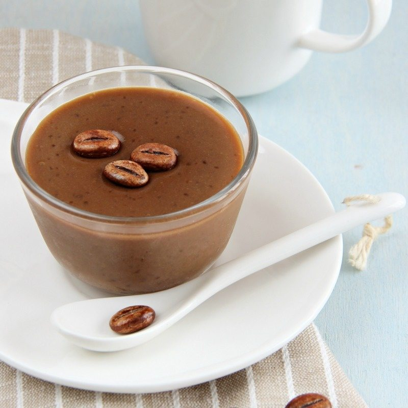 crema al caffè come quella del bar, fatta in casa e light